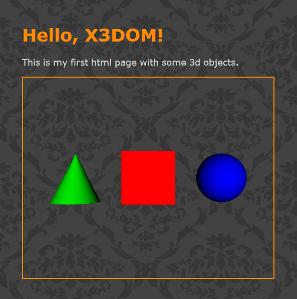 X3DOM Documentation: Tutorials